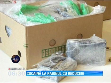 Cocaină ascunse între banane, într-un magazin din Berlin