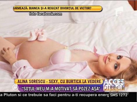 Alina Sorescu, o gravidă frumoasă și sexy! O demonstrează fotografiile!