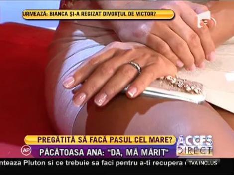 Răspunsul pe care nu doar iubitul ei îl aştepta! Ana Maria Mocanu a primit inelul şi ne spune dacă se mărită