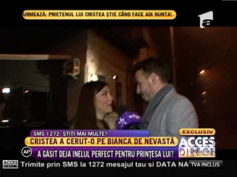 Adrian Cristea cauta inel de logodna pentru Bianca!