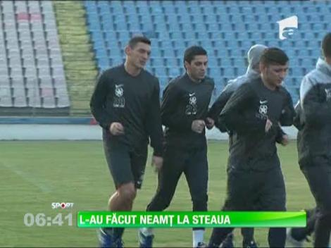 Steliştii se mândrec că au transferat un jucător care a jucat în Ligue 1