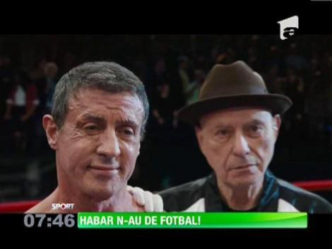 Robert de Niro şi Sylvester Stallone habar n-au de fotbal!