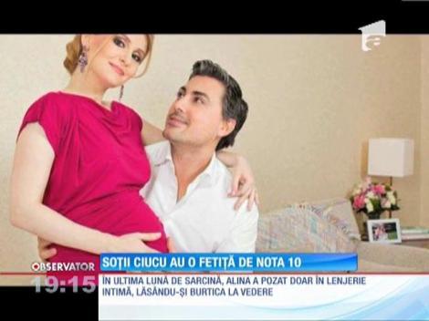 Alina Sorescu a născut o fetiţă de nota 10