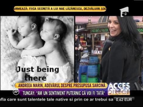 Andrea Marin, adevărul despre presupusa sarcină