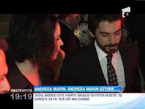 """Andreea Marin Ozturk, noul nume complet al """"Zânei"""""""