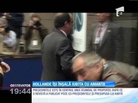 UPDATE / Francois Hollande este presat să-şi aleagă o iubită oficială