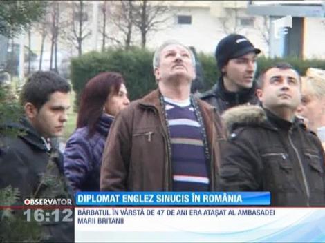 Un diplomat englez s-a sinucis în Baia Mare