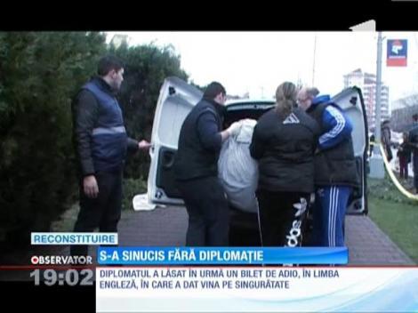 UPDATE / Un diplomat englez s-a sinucis în Baia Mare