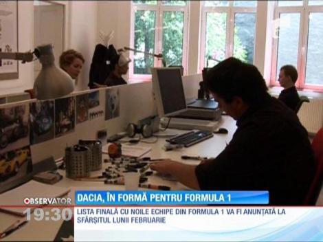 Dacia vrea să-şi tureze motoarele şi în Formula 1