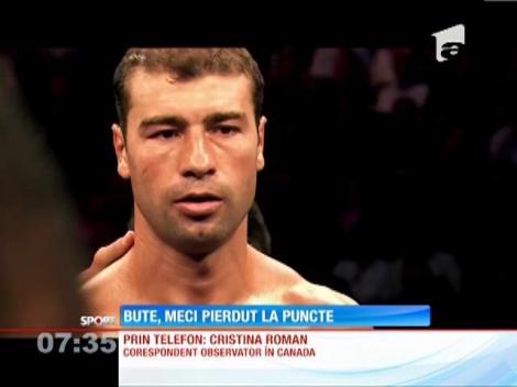 Lucian Bute a pierdut meciul la puncte meciul cu Jean Pascal