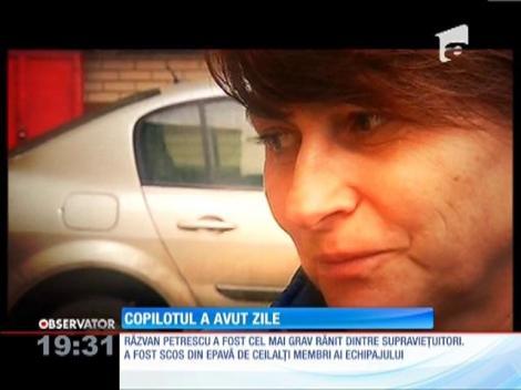 Copilotul Răzvan Petrescu a avut zile
