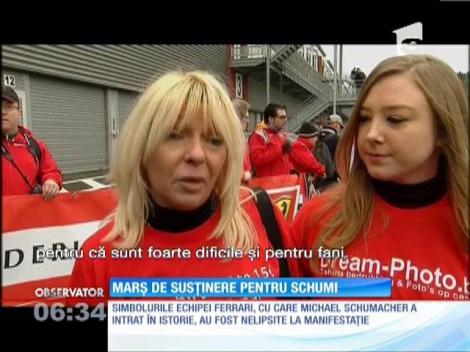 Marș de susținere pentru Michael Schumacher