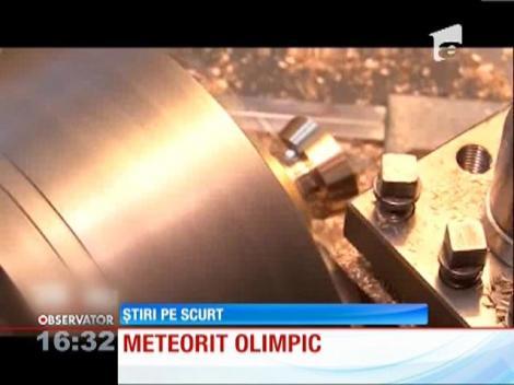 Bucati de meteorit in medaliile pentru JO de iarna din Rusia
