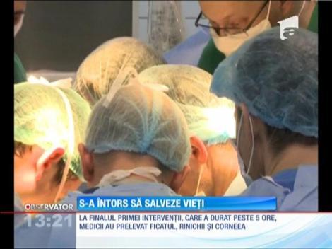 Radu Zamfir s-a întors să salveze vieți
