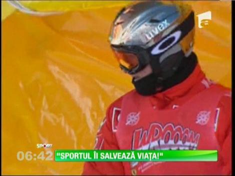 Sportul îi salvează viața lui Schumacher
