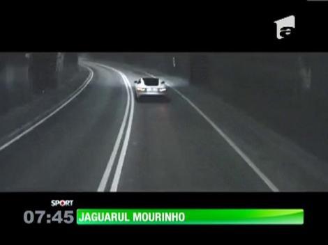 Jose Mourinho va conduce un Jaguar de 100.000 de euro