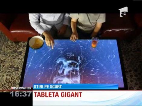 Cea mai mare tableta din lume