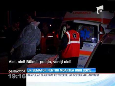 Moartea violentă a unui copil de 12 ani a stârnit revolta pe o şosea din nordul Bucureştilor!