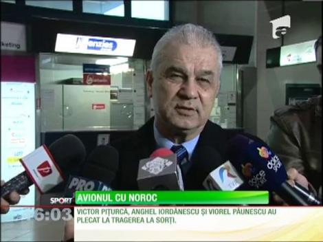 Victor Piţurcă a decolat spre Nisa!