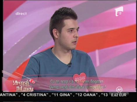 Oana consideră că Bogdan a fost răutăcios cu ea şi l-a provocat pe Andrei!