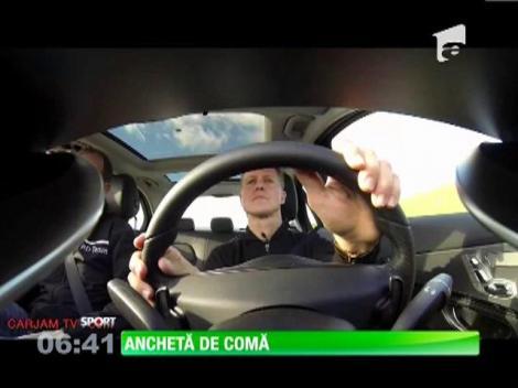 Michael Schumacher, anchetat după ce a lovit un motociclist în Spania, anul trecut