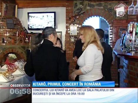 Kitaro, primul concert  în România