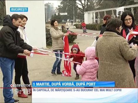 Radu Mazăre a împărțit mărțișoare pensionarelor