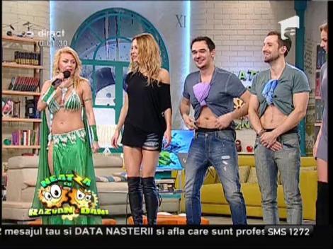 Răzvan și Dani, dans din buric!