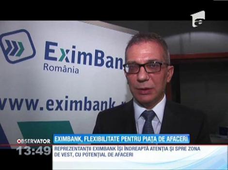 EximBank, flexibilitate pentru piaţa de afaceri