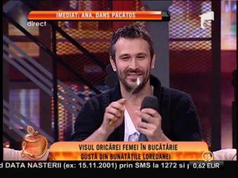"Claudia Pătrășcanu și chef Nicolai Tand, gazdele emisiunii ""Star Chef"""