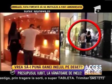 Oana Zăvoranu îşi caută inel de logodnă