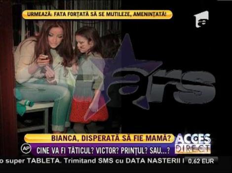 Bianca Drăguşanu pare pregătită să devină mamă