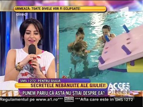 """Giulia Anghelescu: """"Pianul e noua pasiune a fiicei mele"""""""