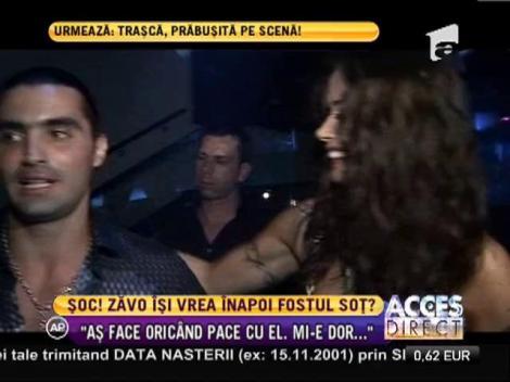 Oana Zăvoranu este dispusă să se împace cu Pepe!