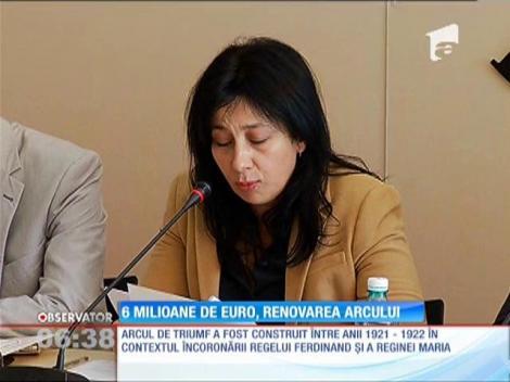 6 milioane de euro, renovarea  Arcului de Triumf