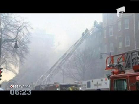 Incendiu puternic în cartierul istoric din Boston