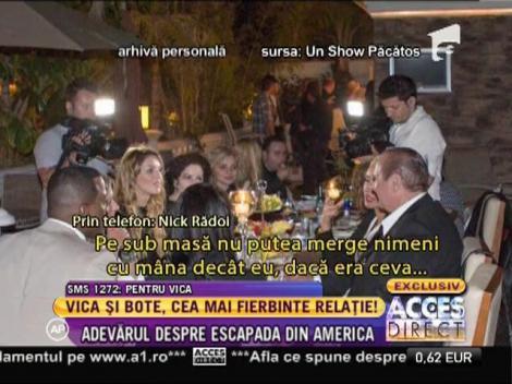 """Nick Rădoi: """"Între Vica Blochina și Cătălin Botezatu am văzut doar o relație de prietenie"""""""