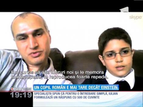 UPDATE / Un copil român de 11 ani a uimit Marea Britanie cu inteligenţa sa