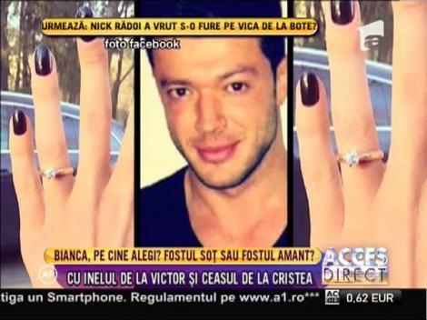 Bianca Drăguşanu poartă şi acum inelul de logodnă de la Victor!