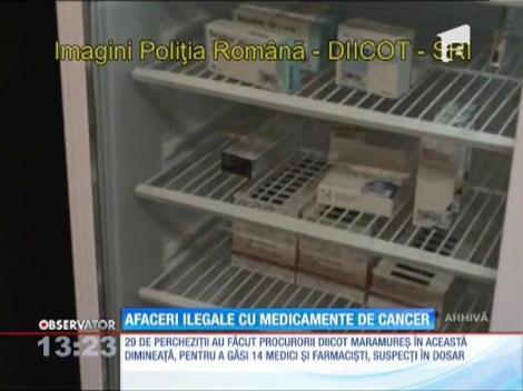 Percheziții la medici și farmaciști suspectați că eliberau rețete false