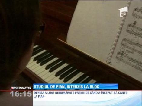 O fetiţă de 10 ani din Oradea, premiată la diverse consursuri de interpretare la pian ar putea fi forţată să renunţe la această pasiune