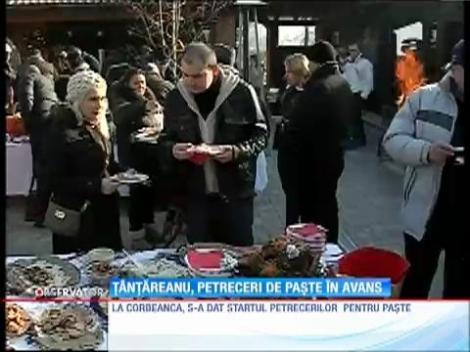 Cristian Ţânţăreanu, petrecere de Paște în avans