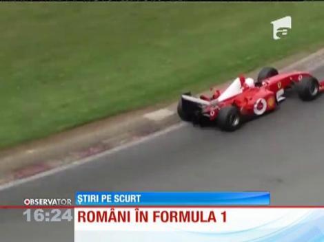 Românii îşi fac loc în Formula 1