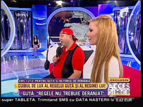 Nicolae Guţă, inel cu diamante pentru Beyonce de România
