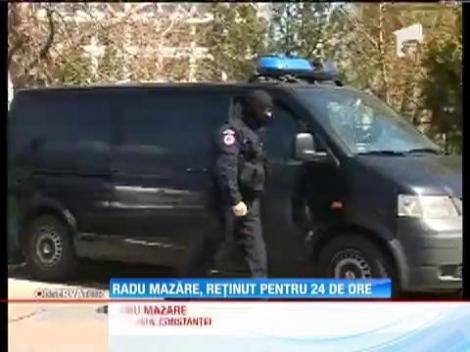 Radu Mazăre a fost reţinut pentru 24 de ore