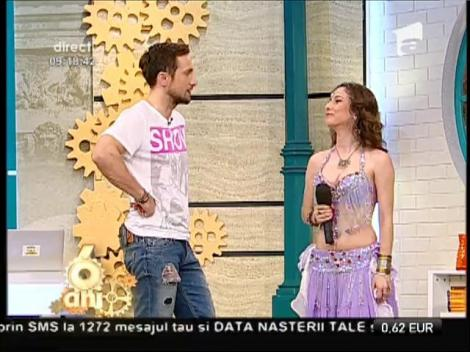 Ce mai dans, ce mai buric! Maria Cristina Gîrloiu încinge atmosfera