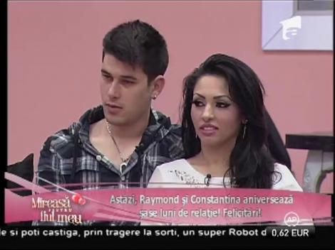 Raymond şi Constantina aniversează şase luni de relaţie!