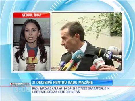 Vinerea Mare, ziua în care Radu Mazăre află dacă îşi petrece Paştele în libertate