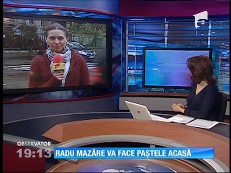 Radu Mazăre face Paştele acasă