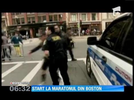 Astăzi se dă startul celui mai vechi maraton din lume, cel de la Boston